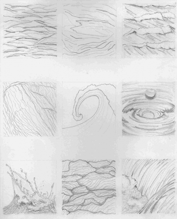 Fascinating Pencil Drawing Water Techniques for Beginners Water Pencil Drawing At Paintingvalley | Explore Collection Of Image
