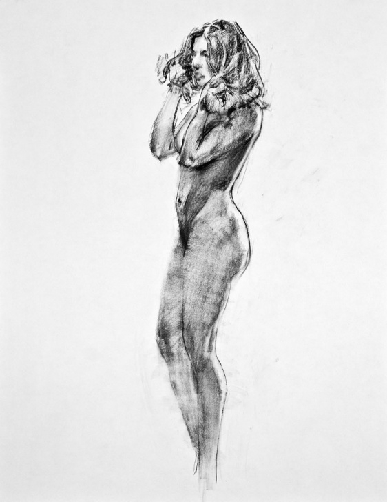 Fascinating Pencil Figure Drawing Courses The Main Loop: Figure Drawing - A Lonely Pencil Image
