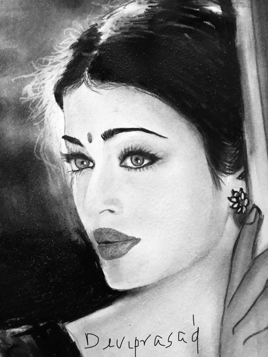Fascinating Pencil Sketch Of Aishwarya Rai Tutorials Aishwarya | Sketch In 2019 | Drawings, Art Drawings, Art Sketches Pic