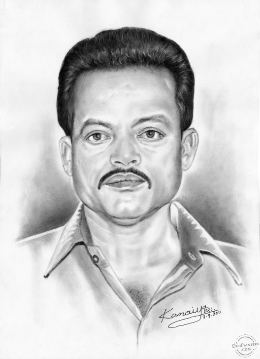 Fascinating Pencil Sketch Of Man for Beginners Pencil Sketch Of A Man | Desipainters Photo