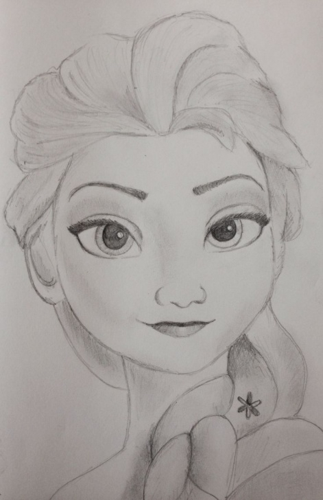 Pencil Sketches Of Disney Princess
