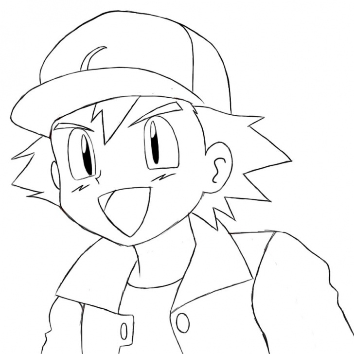 Fascinating Pokemon Drawings In Pencil Easy Ideas How To Draw Ash Ketchum | Places To Visit | Pikachu Drawing, Ash Pictures