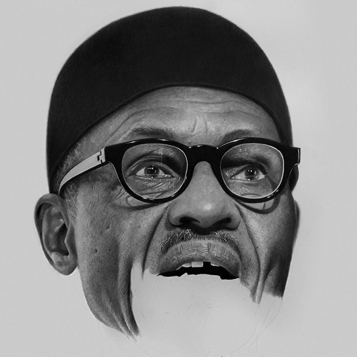 Fascinating Realistic Pencil Art for Beginners Hyperrealistic Pencil Drawings By Nigerian Artist | Demilked Pictures