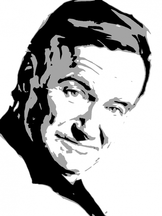Robin Williams Stencil