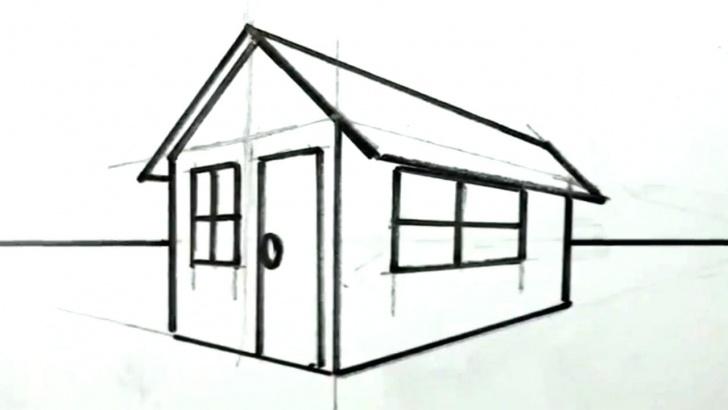 Fascinating Simple Pencil Drawings Of Houses for Beginners Simple House Drawing For Kids At Paintingvalley | Explore Pic