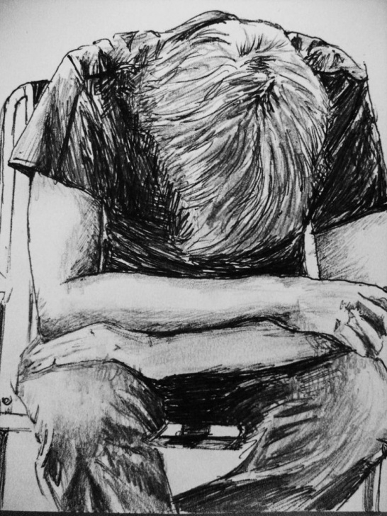 """Fascinating Sketching Alone Boys Techniques for Beginners A Sad Boy In Rain Pencil Art"""" 