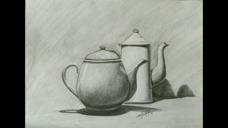 Fascinating Still Life Drawings In Pencil With Shading Tutorials How To Draw Still Life With Pencil | Pencil Art | Drawing | Shading Photos