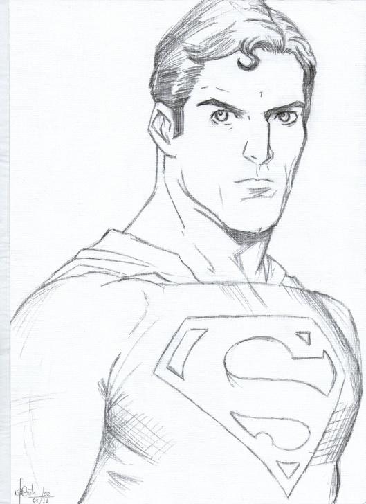Fascinating Superman Pencil Sketch Step by Step Pencil Sketch Superman And Superman Sketch Drawing Superman Pencil Pic