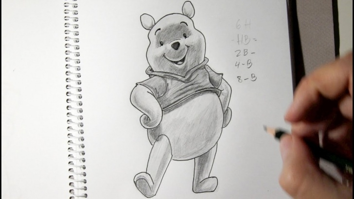 Fascinating Winnie The Pooh Pencil Drawings Lessons How To Draw Winnie The Pooh Step By Step With Pencil - Things To Draw Images
