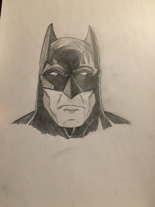 Fine Batman Pencil Sketch for Beginners Batman Pencil Sketch Photo