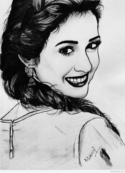 Fine Beautiful Pencil Sketches Simple Beautiful Pencil Sketch Art By Manoj Kumar Naik | Desipainters Image