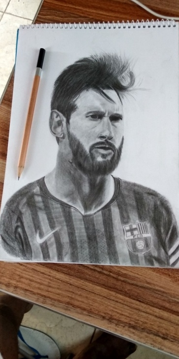 Fine Best Drawings Of All Time for Beginners My Pencil Drawing Of Leo Messi.. The Greatest Footballer Of All Time Picture