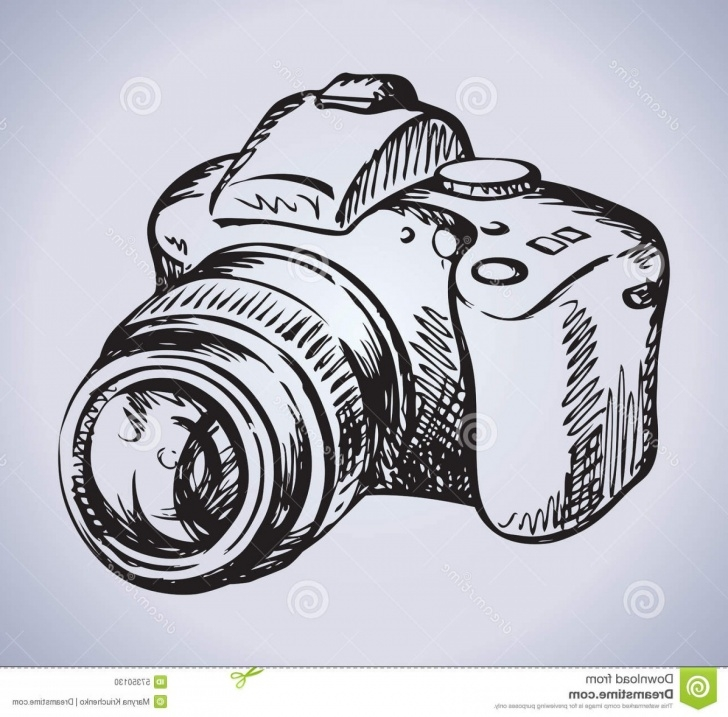 Fine Camera Pencil Sketch Tutorial Pencil Sketch Camera Images And Stock Photos Pencil Sketch Dslr Pictures