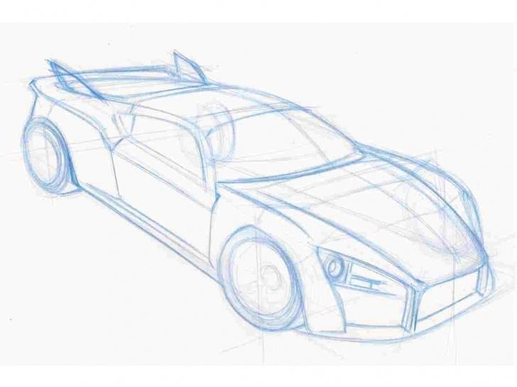 Fine Car Pencil Sketch Tutorial Simple Car Pencil Drawing Pic