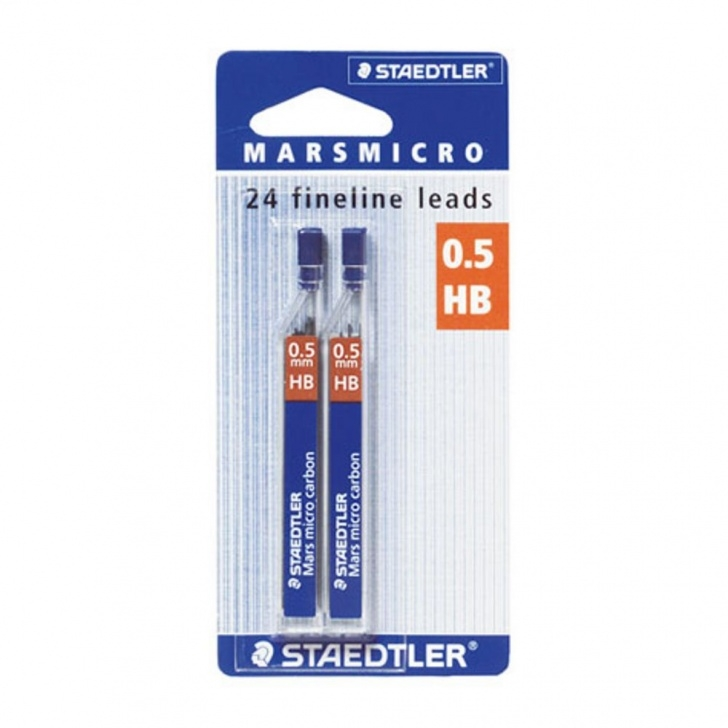 Fine Carbon Pencil Lead Techniques for Beginners Staedtler Mechanical Pencil Lead Refills 0.5Mm Hb 24 Pack | Officeworks Photo