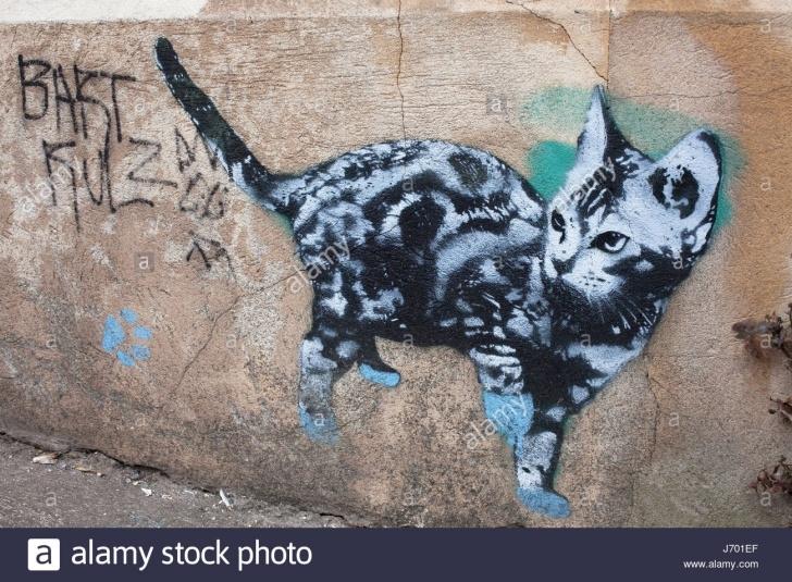 Fine Cat Graffiti Stencil Techniques for Beginners Cat Stencil Stock Photos & Cat Stencil Stock Images - Alamy Pictures