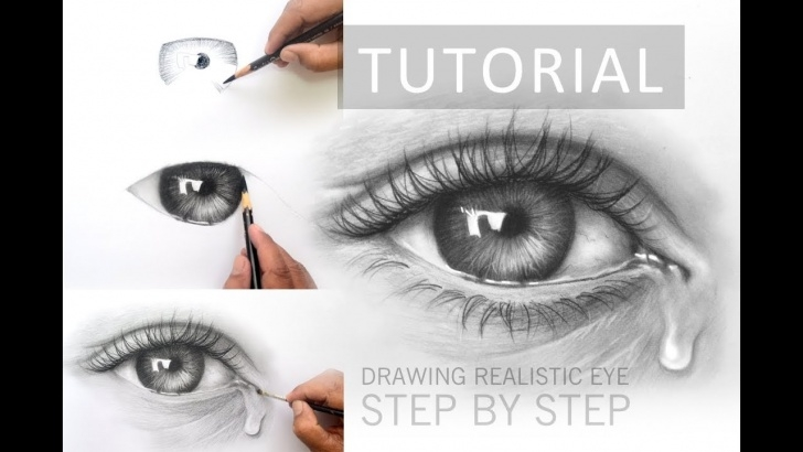 Fine Charcoal Drawing Step By Step Tutorial How To Draw A Realistic Eye With Charcoal Pencil | Step By Step Tutorial Pic