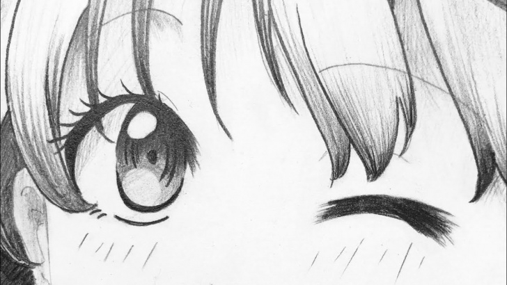 Fine Easy Anime Drawings In Pencil Step by Step Super Easy Anime Girl Pencil Drawing! Image