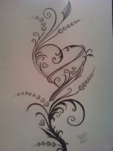 Fine Heart Pencil Drawing for Beginners Pencil Drawings Of Hearts Drawings Of Roses And Hearts Hearts And Images