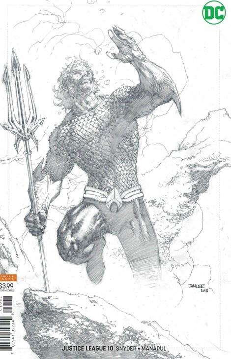 Fine Jim Lee Pencil Art Tutorial Justice League #10 1:25 Jim Lee Pencils Only Sketch Variant 2018 Snyder  Aquaman Photo