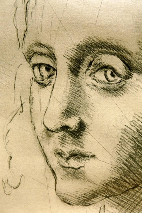 Fine Leonardo Da Vinci Pencil Drawings Courses Inspired By Leonardo Da Vinci #01, Close Up- Italian Renaissance Drawings  In Pencil, Graphite, Sanguine, Charcoal, Pastels, Tempera On Paper Pictures
