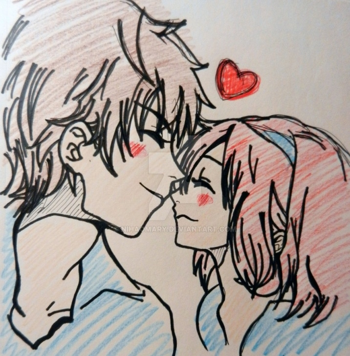 Fine Lovely Couple Sketch Easy Lovely Couple Sketch By Nihaomary On Deviantart Picture