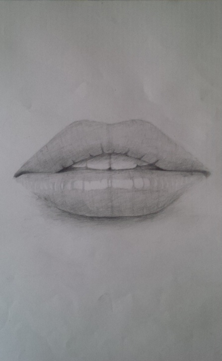 Fine Mouth Pencil Drawing Tutorial Pencil Drawing Of A Woman's Mouth – Sabayi The Artist Images