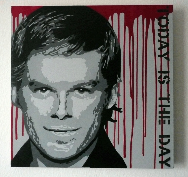 Fine Multi Layer Stencil Art Free Dexter - Multilayer Stencil Art | My First Stencil ! 4 Layer… | Flickr Photos