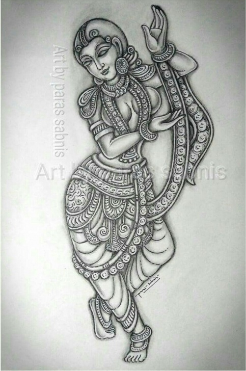 Fine Mural Pencil Drawings Step by Step Pin By Sabitha On Pen Drawing In 2019 | Art Drawings, Art Sketches Photo