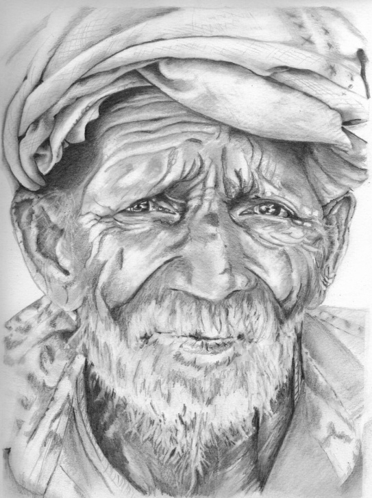 Fine Old Man Pencil Sketch Ideas Googled For Images Of Old Men With A Beard And Found This Gentleman Images