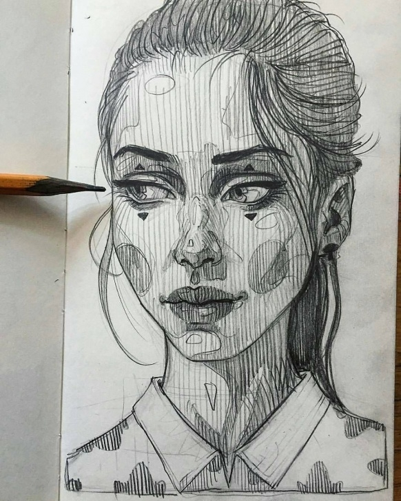 Fine Pencil Drawing Instagram Simple Pin By Domtomi On Art♡.♡ | Pencil Portrait Drawing, Pencil Photo