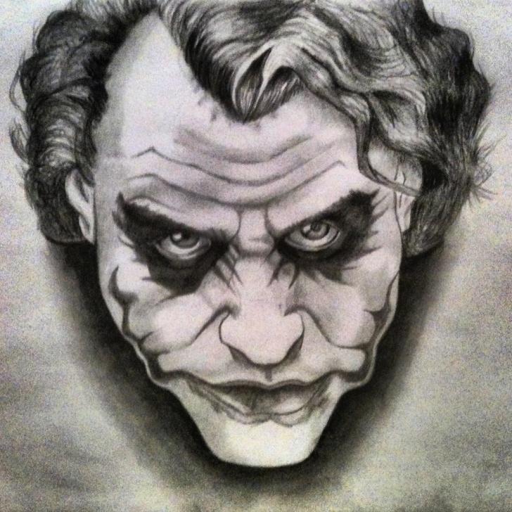 Fine Pencil Drawing Of Joker Simple Pencil Drawing Joker. | Julio César Díaz Sollano | Flickr Pics