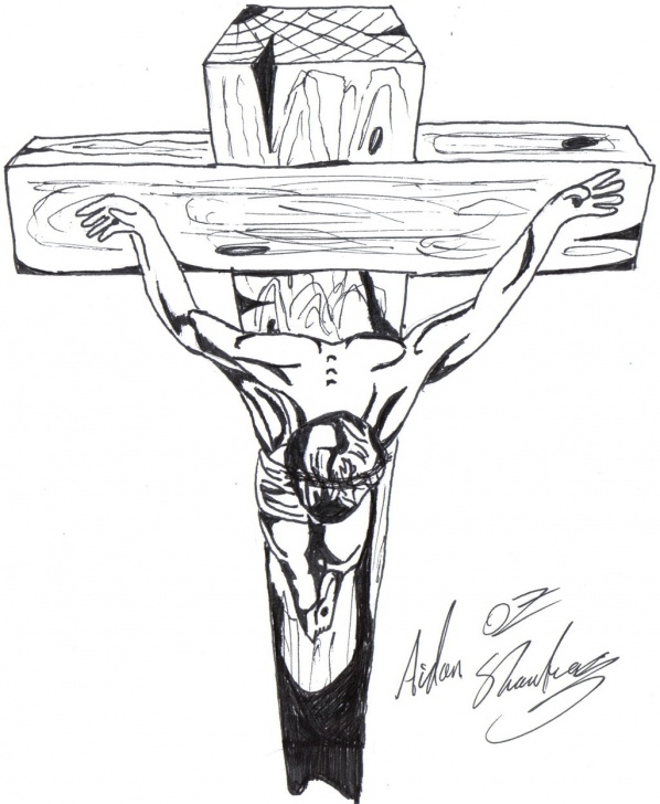 Fine Pencil Drawings Of Jesus On The Cross Step by Step Jesus Christ On The Cross Drawings At Paintingvalley | Explore Images