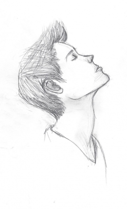 Fine Pencil Sketch Boy Free Sad Drawing, Pencil, Sketch, Colorful, Realistic Art Images Pics