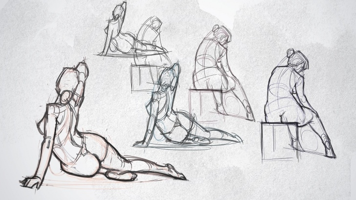 Fine Pencil Sketch Human Figure Courses Draw A Figure In Under Five Minutes | Creative Bloq Pic