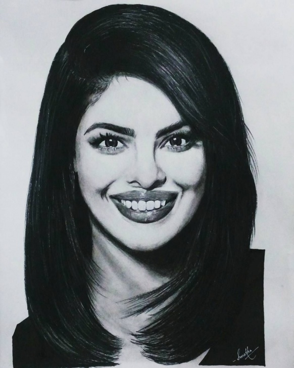 Fine Priyanka Chopra Pencil Sketch Techniques for Beginners Priyankachopra Priyanka Chopra Sketch. Used Staedtler Pencils 8B And Pic