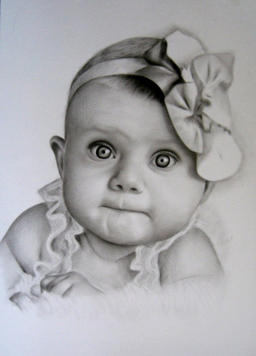 Fine Realistic Pencil Shading Techniques for Beginners Pin By Kentucky Lady On Babies In 2019 | Pencil Drawings, Pencil Art Photos
