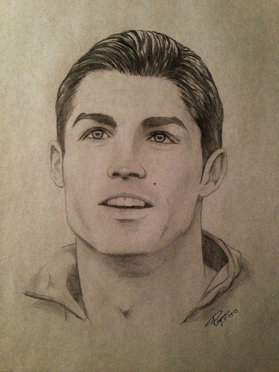 Fine Ronaldo Pencil Sketch Tutorial Cristiano Ronaldo Pencil Drawing | Drawings In 2019 | Ronaldo Photo