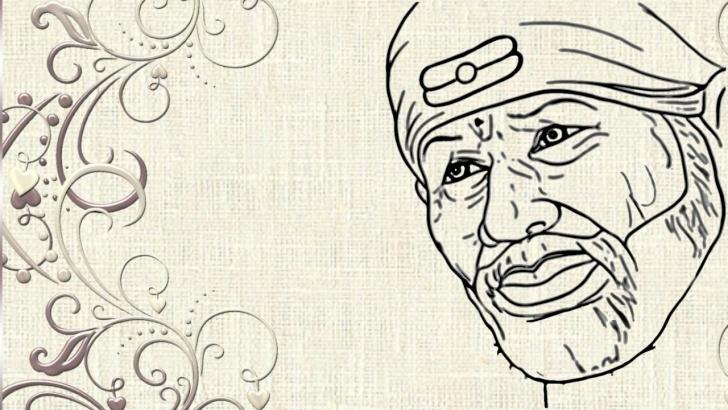 Fine Sai Baba Pencil Art Tutorial Sai Baba Drawing Pic