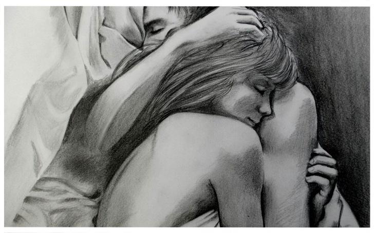 Fine Simple Romantic Pencil Drawings Tutorial Cute Simple Drawings Of Love | Romantic & Sad Couple Wallpapers In Photos