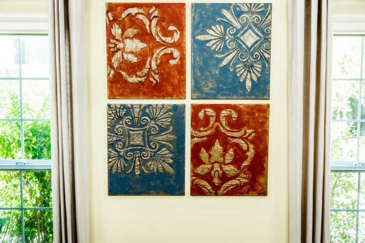 Fine Stencil Art Diy Ideas Diy Stencil Art | Home & Family | Hallmark Channel Pic