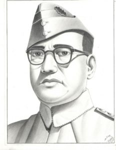 Fine Subhash Chandra Bose Pencil Drawing Easy Subhash Chandra Bose, Portrait | My Sketch | Subhas Chandra Bose Images