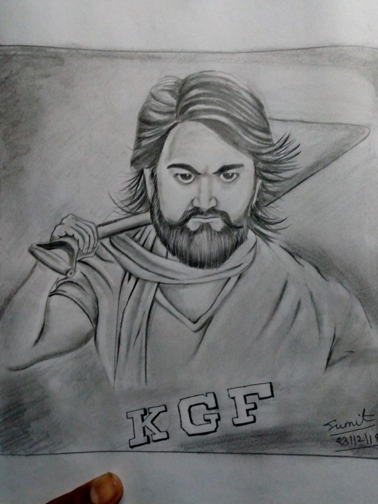 Fine Yash Pencil Sketch Techniques for Beginners Kgf, Yash | Sumit Sketch Art In 2019 | Art Sketches, Sketches, Drawings Photo