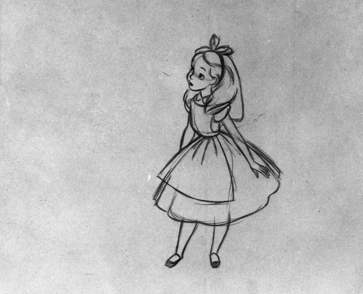 Good Alice In Wonderland Pencil Drawings Techniques for Beginners Alice In Wonderland Drawings Disney - Google Search | Inked Uuuup Pictures