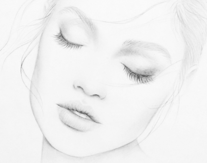 Good Basic Pencil Art Lessons Basic Drawing Tips - Silvie Mahdal - The Art Of Pencil Pictures