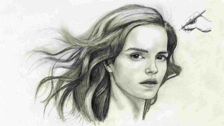 Good Basic Portrait Drawing Lessons Sketching Rhdrawingpencilsketchycom Portrait Realistic Portrait Images