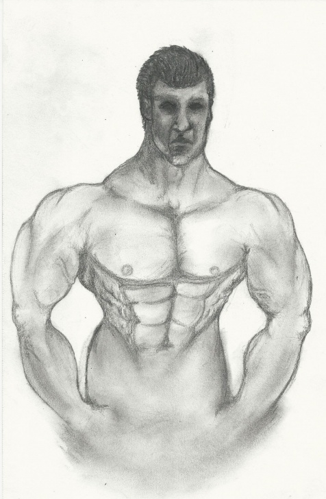Good Bodybuilder Pencil Sketch Tutorials Bodybuilder #illustration #sketch #art #beauty #drawing #pencil Photos