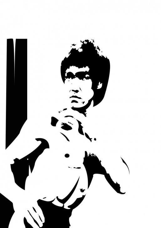 Good Bruce Lee Stencil Free 16 Bruce Lee Vector Art Images - Bruce Lee Vector, Bruce Lee Vector Picture
