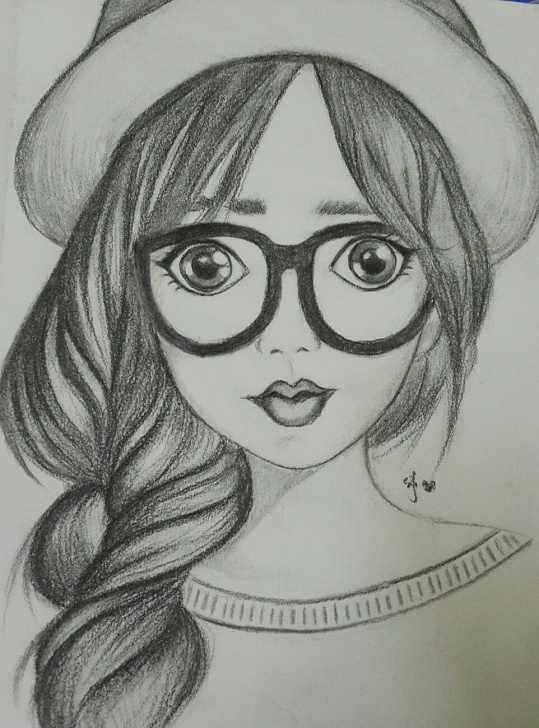Good Cartoon Pencil Sketch Ideas Pin By Maryam On My Style In 2019 | Pencil Drawings, Drawings Images