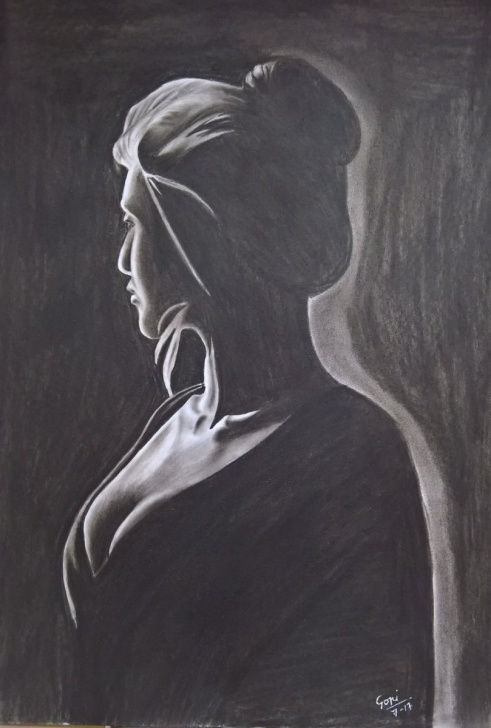 "Good Dark Pencil Sketches Simple Gopi Chand Arts On Twitter: ""darkness Series 2Nd Charcoal Pencil Pictures"